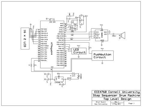 step sequencer drum machine ece cornell