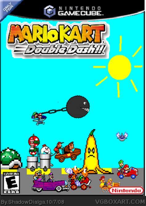mario kart: double dash!! gamecube box art cover by