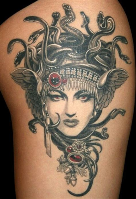 medusa head tattoo medusa mythology tattoos medusa