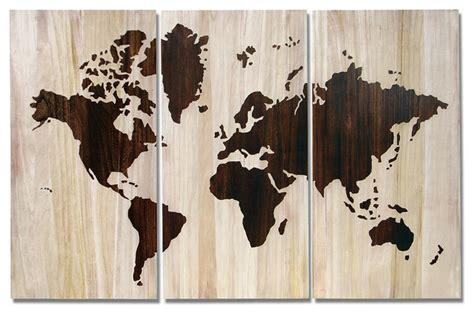 Poster Peta Dunia Hiasan Dinding mendekorasi dinding dengan peta mau rooang