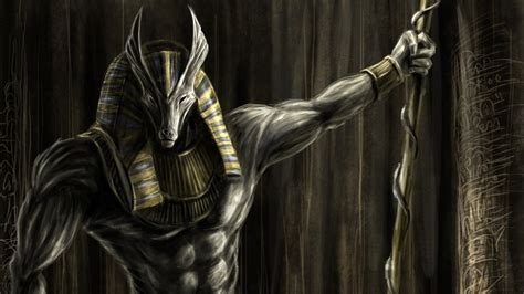 dark wallpaper egypt anubis egyptian god wallpaper 61 images