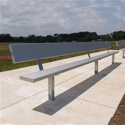 team benches permanent semi permanent team benches by aae