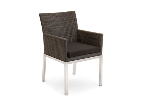 restaurant armchairs tallow outdoor dining chairs modern furniture by eco outdoor