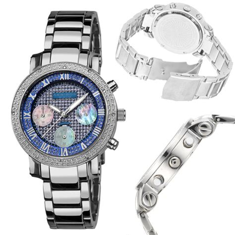 Steel Blue List Silver akribos xxiv men s and women s watches