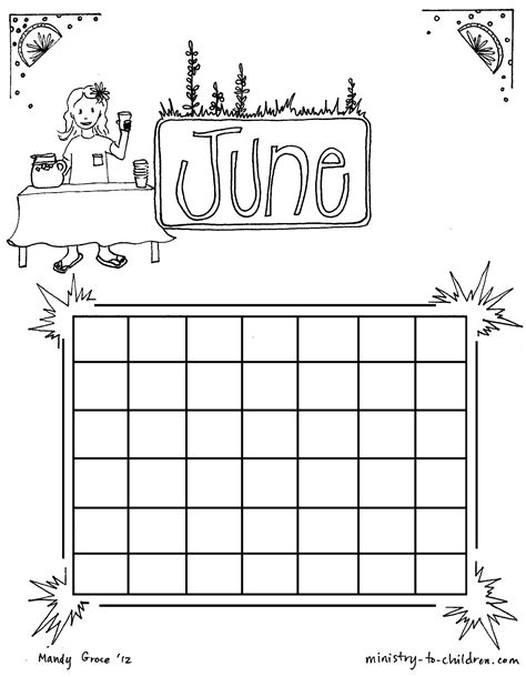 coloring pages for june june coloring pages to download and print for free