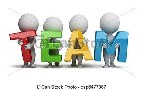 can stock photo clipart illustrations de petit gens 3d 233 quipe 3d petit