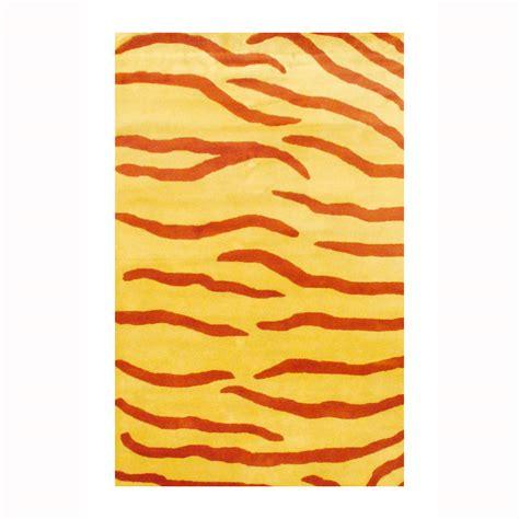 Zebra Stripe Area Rug Indo Tufted Zebra Stripe Wool Rug 3 3 X 5 3 Herat Rugs