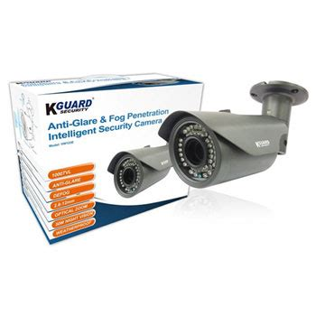 k guard anti glare and fog penetration security camera
