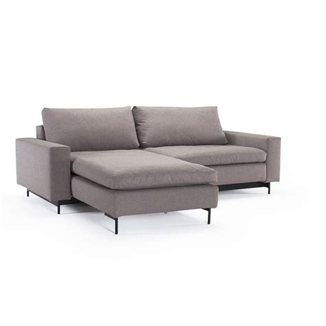 Modular Sleeper Sofa Idi Modular With Arms Left Or Right Facing Fabric Sectional Sleeper Sofa Bed By Innovation