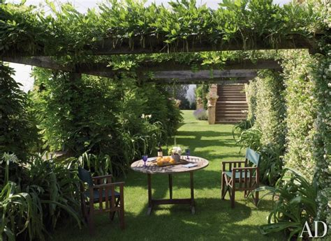 rustic backyard rustic garden by arabella lennox boyd ad designfile home decorating photos