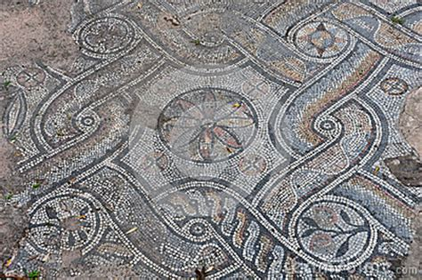 ancient roman floor mosaic stock photo image: 41833209
