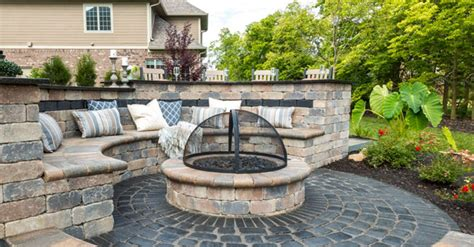rich color options for your central illinois fire pit