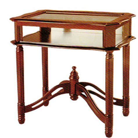 glass top curio table curio cabinets glass top curio table 4638 itmfs65