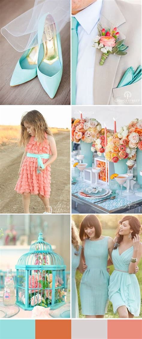 442 best images about coral wedding ideas on