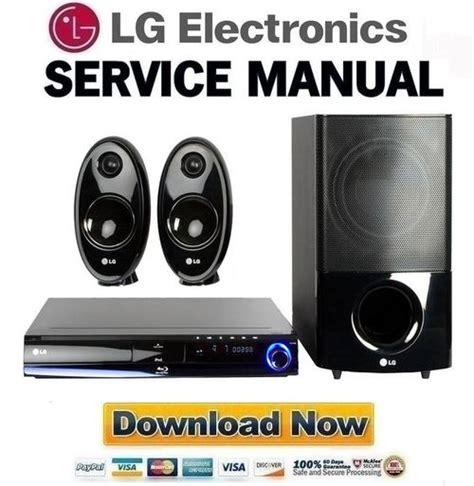 lg hb354bs service manual and repair guide pligg