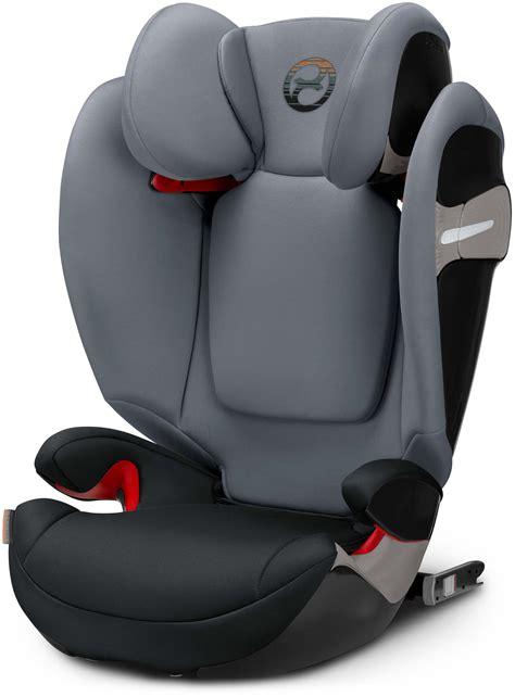 cybex solution  fix pepper black child seat group iiiii