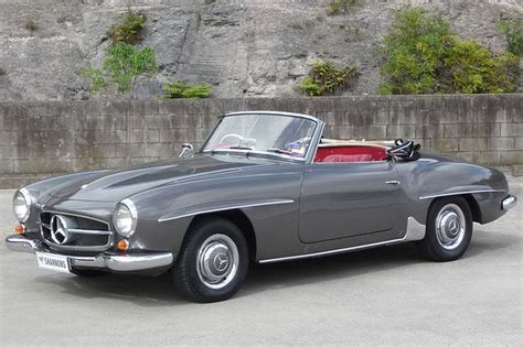 mercedes convertible 1956 mercedes 190sl convertible for sale