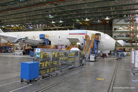 10 floors building plant photo tour of the boeing 787 dreamliner factory floor