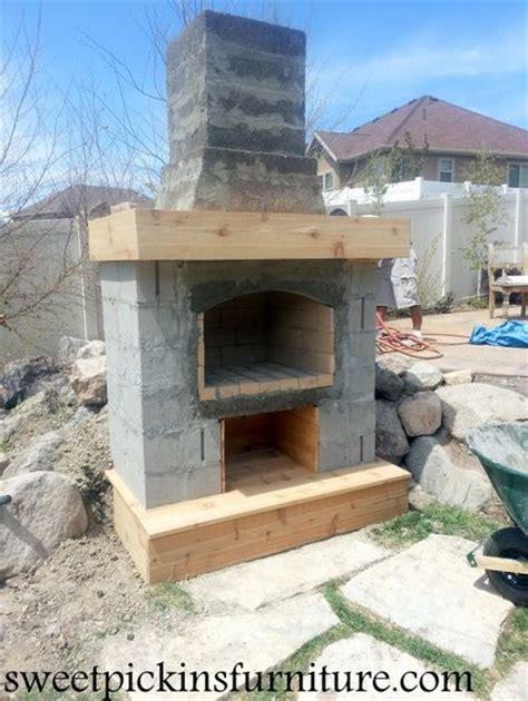 best 25 diy outdoor fireplace ideas on diy