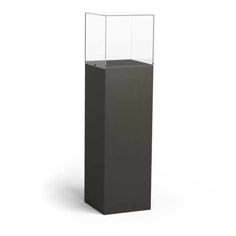 how to secure a pedestal standard pedestal finished upland exhibit systems