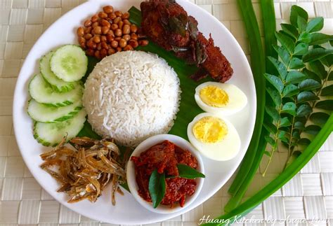 nasi lemak malaysian nasi lemak
