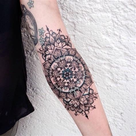 mandala forearm tattoo mandala tattoos