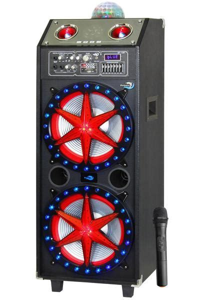 Dolphin SP 12BT Bluetooth Party Speaker with Lights
