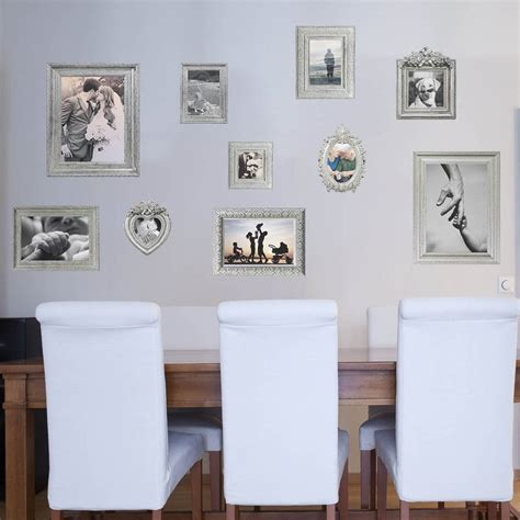 wall stickers frames silver photo frames wall stickers by the binary box