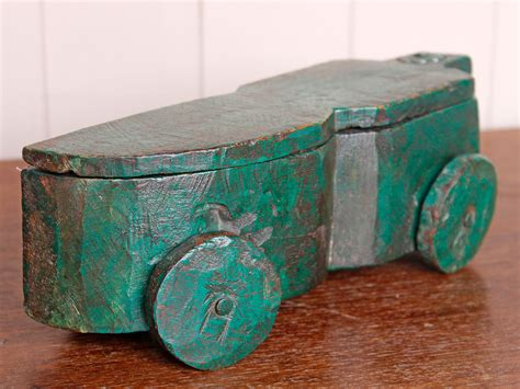 rustic green rustic green car styled spice box sold scaramanga