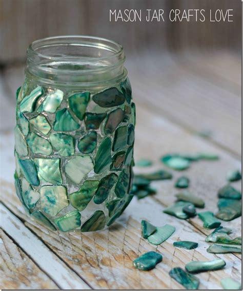 jar crafts mosaic jar jar crafts