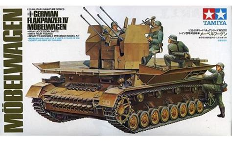 Tamiya Model german flakpanzer mobelwagen kit tamiya 35101 plastic