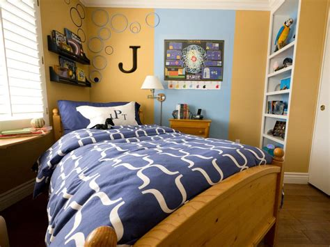 small bedroom ideas for boys small boy s room with big storage needs hgtv