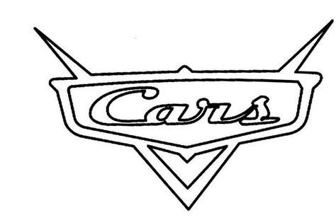cars logo coloring pages patron de cars para imprimir imagui