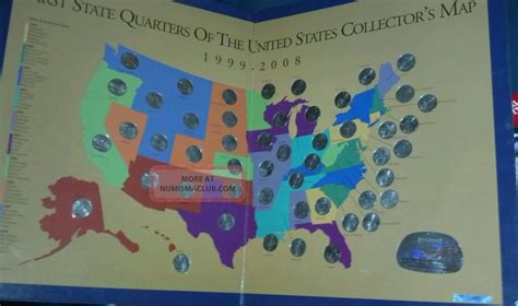 state quarters of the united states collectors map state quarters if the united states collectors map