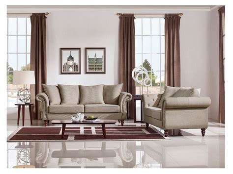 alastair couch alastair beige fabric sofa set shop for affordable home