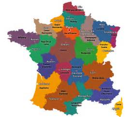 Map Of France Regions by Maps Of The Regions Of France