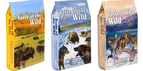 dog food coupons taste of the wild taste of the wild dog food consumer ratings and coupons 2016