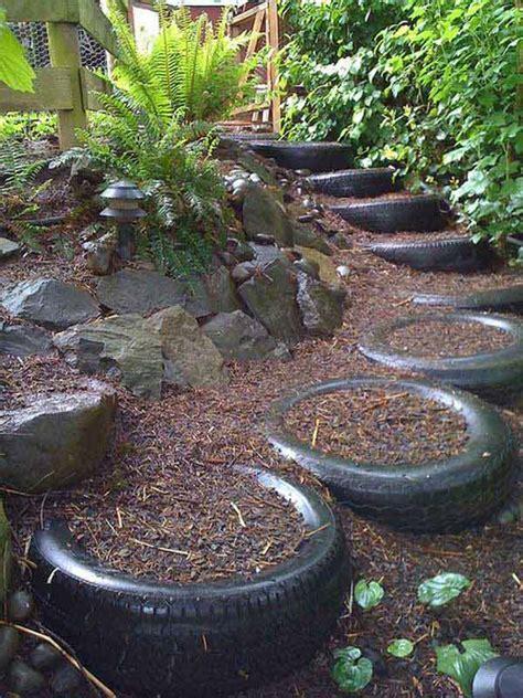 realizzare giardino realizzare scalini in giardino 20 soluzioni da vedere
