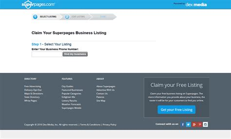 Superpages Finder Top 19 Local Business Directories Of The Usa