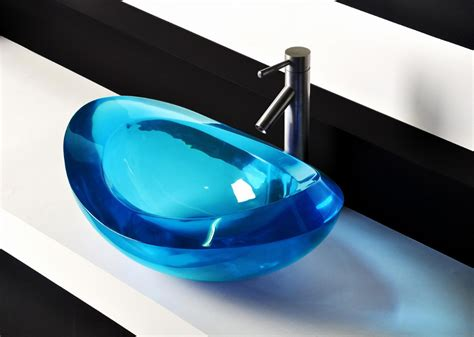 acrylic bar top resin lima oval resin counter top sink colorful wash basin cupc