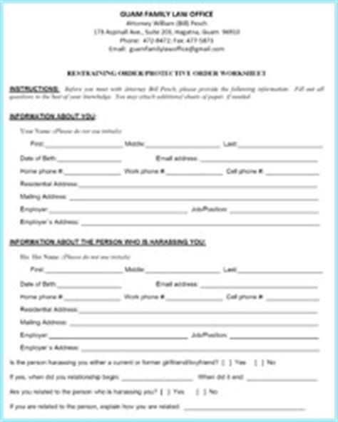 Files For Restraining Order by Divorce Worksheet Lesupercoin Printables Worksheets