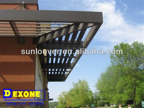 Awning Roof Building Overhang Metal Aluminum Solar Shading Buy