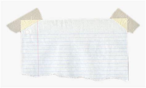 transparent torn notebook paper png torn notebook paper