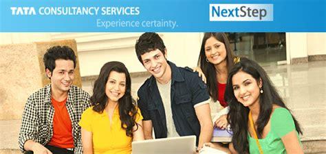 Tcs Internship For Mba by Tcs Nextstep Registration For Freshers Graduates