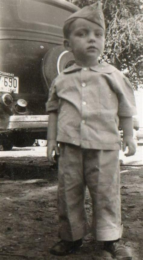 soldier 1943 vintage 1940s children clothes