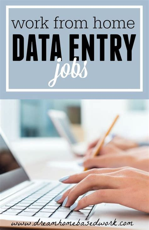 home based work data entry and data entry on
