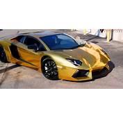 Enjoy A Marvelous Car In Golden Color