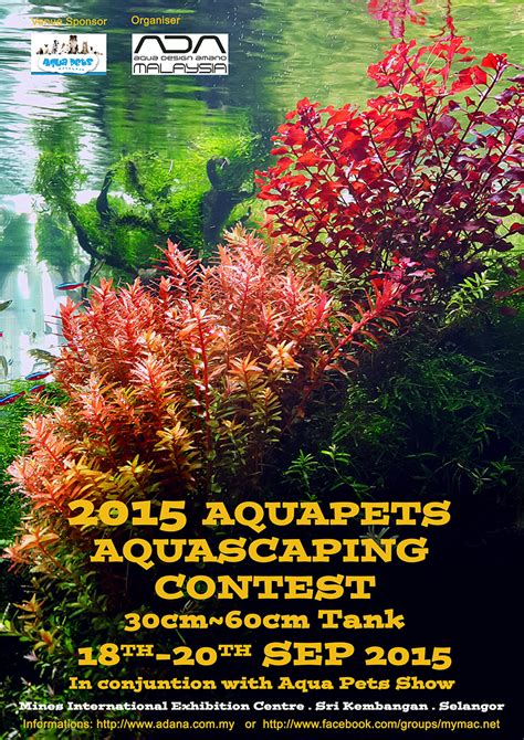 Aquascaping Contest by 2015 Aquapets Aquascaping Contest Ada Malaysia