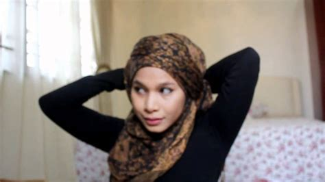 tutorial hijab turban you tube hijab tutorial turban style youtube