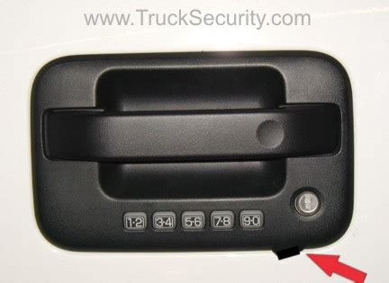 Handle R 150 Ride It truck security ford f 150 door handle plate